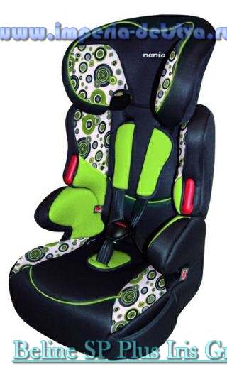 Арт Nania plus Beline SP Plus Iris Green: Автокресло. Team-Tex